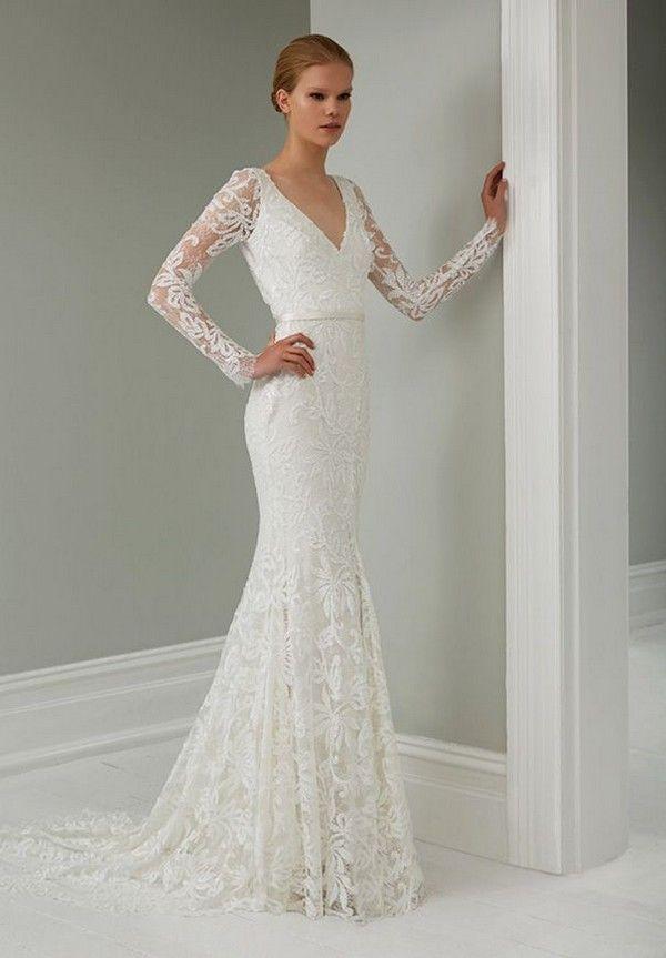 Lace-Steven-Khalil-Wedding-Dress-Collection.jpg (600×863) | wedding ...