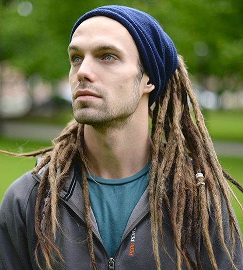 from Axton naked mens with dreadlocks