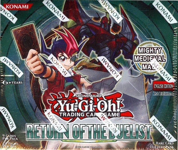 Details about yugioh return of the duelist 1st edition