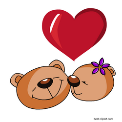 Teddy Bears Free Clip Art For Valentine S Day Free Valentine Clip Art Valentines Clip Clip Art