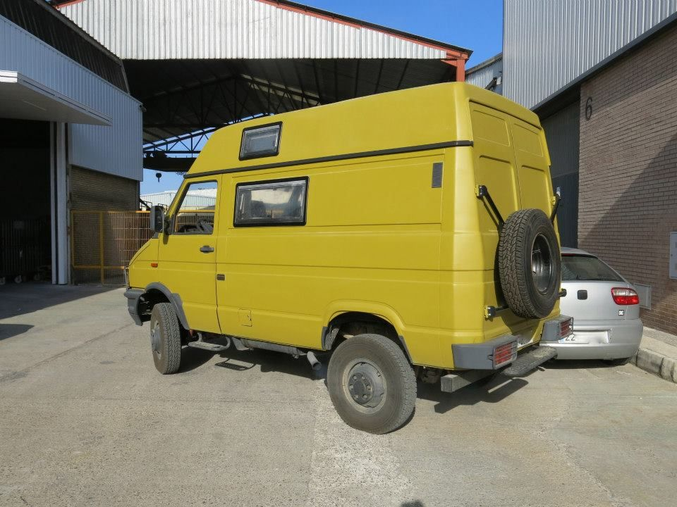 iveco daily 4x4 campers pinterest wohnmobil. Black Bedroom Furniture Sets. Home Design Ideas