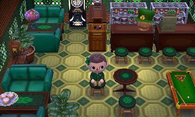 The Irish Pub In Shamrock Village Animal Crossing Animal