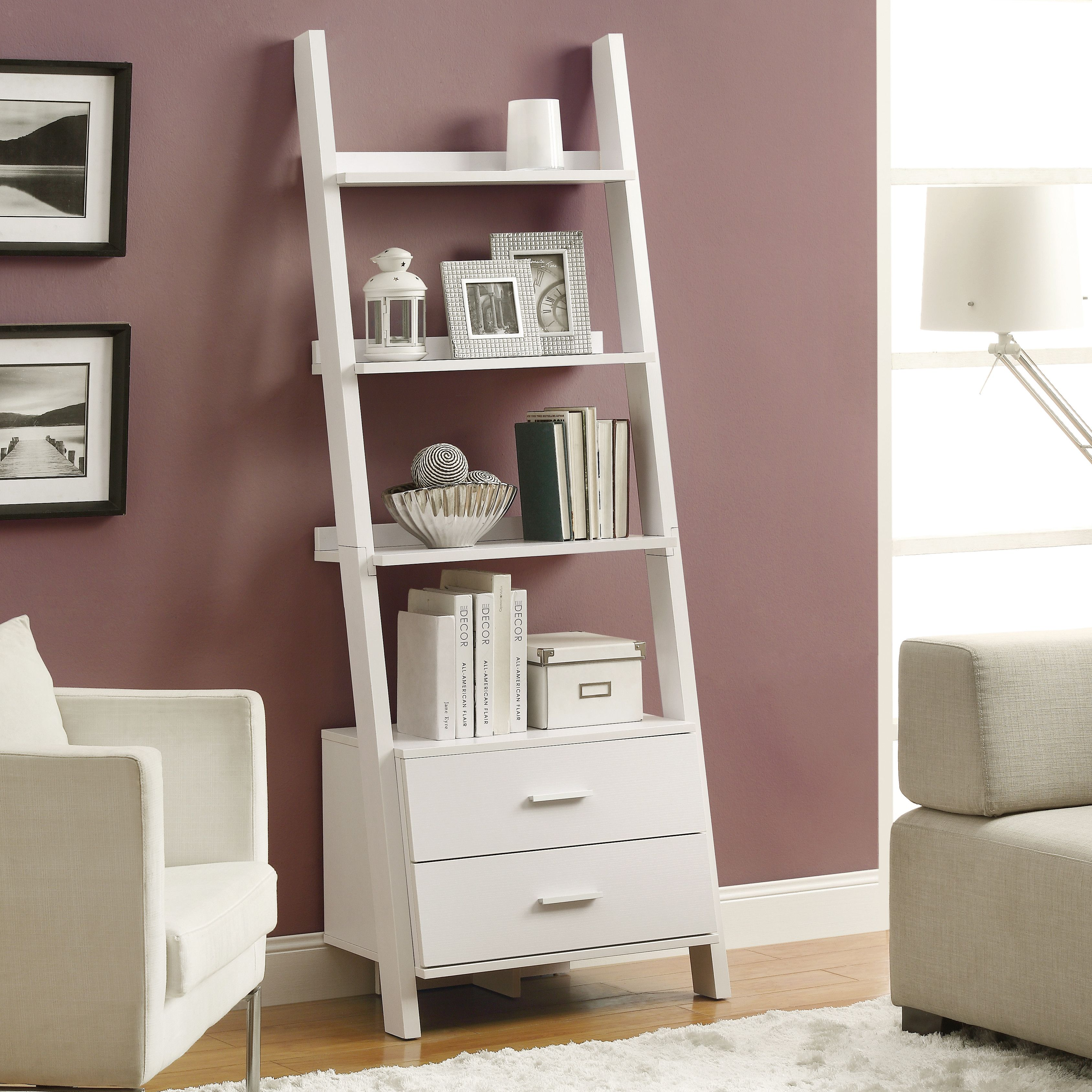 Features material particle board mdf with storage drawers