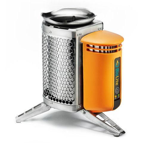 Backpacking with this might be worth the weight! BioLite CampStove | Burn Wood, Cook Meals, Charge Gear