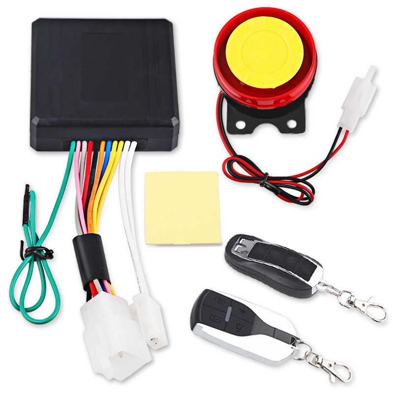 Promo Offer Universal Motorcycle Bike Alarm System Scooter Anti