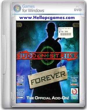 Sudden Strike Forever Game Free Download Full Version For Pc En