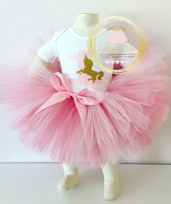 Unicorn birthday outfit - unicorn tutu outfit - 1st birthday tutu ...