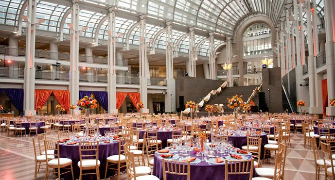 Located In The Heart Of Washington Dc Ronald Reagan Building Dynamic Es Are Perfect For Weddings All Kinds