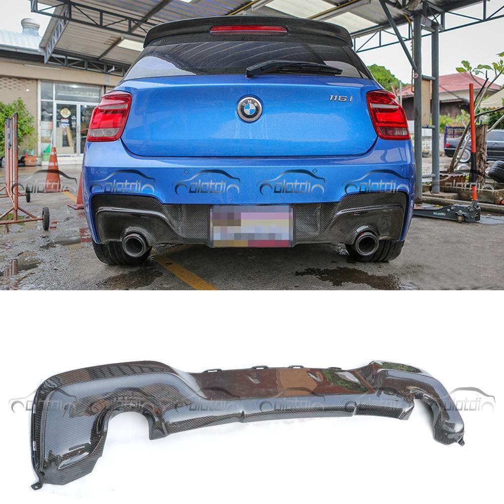 F20 3d Style Car Styling Carbon Fiber Rear Bumper Lip Diffuser For