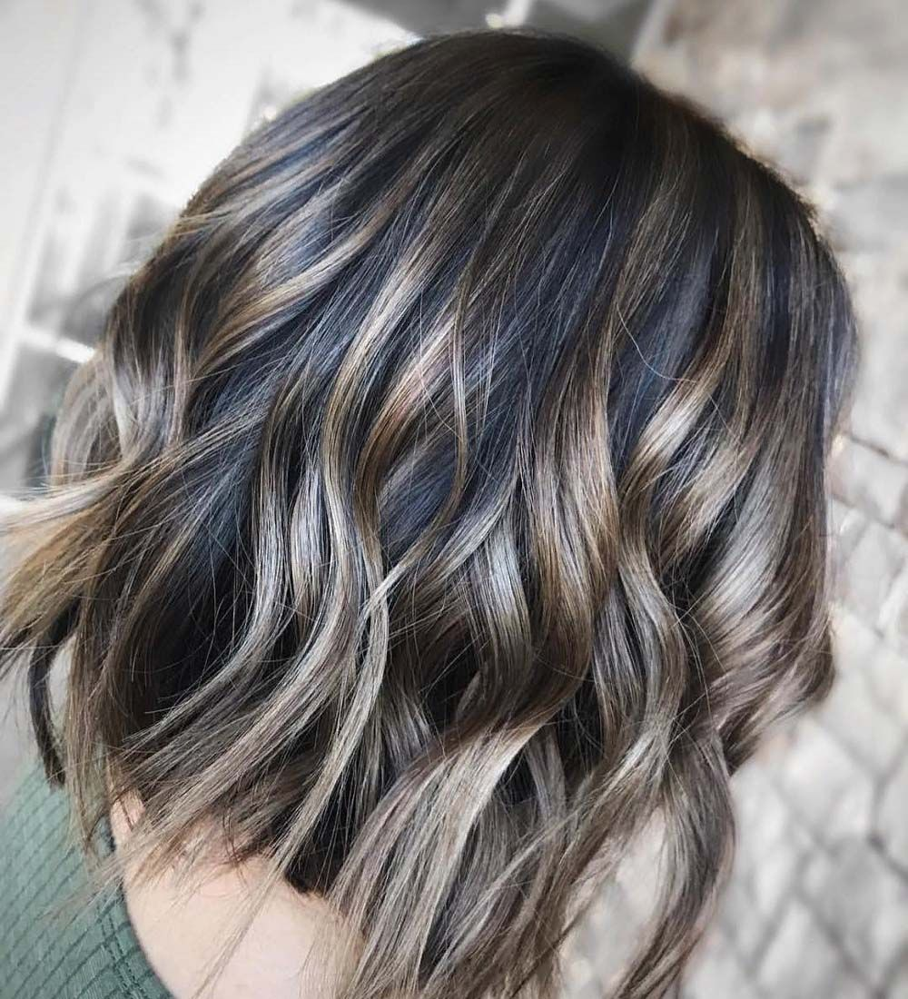 Mushroom Brown Hair Color Ideas and Look for 2019