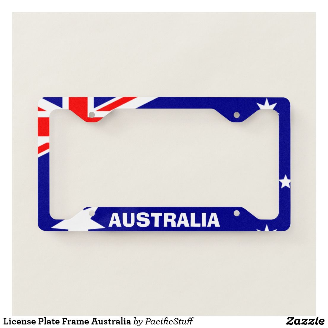 Picture Frames Australia License Plate Frame Australia Zazzle International License