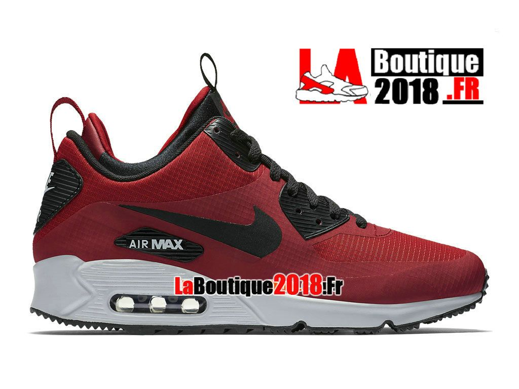 low priced 117ee 2a238 Nike Air Max 90 Mid Winter - Chaussures Nike Mi-Montante Boutique Pas Cher  Pour
