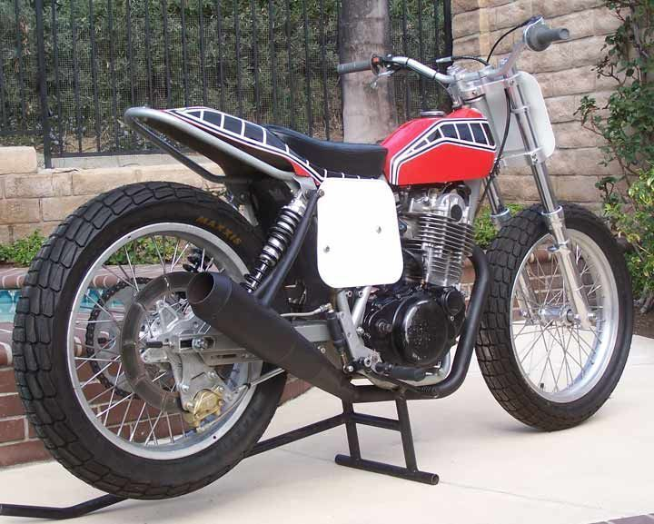 pin by brent stone on yamaha tt xt sr 500 pinterest flat tracker tracker motorcycle and. Black Bedroom Furniture Sets. Home Design Ideas