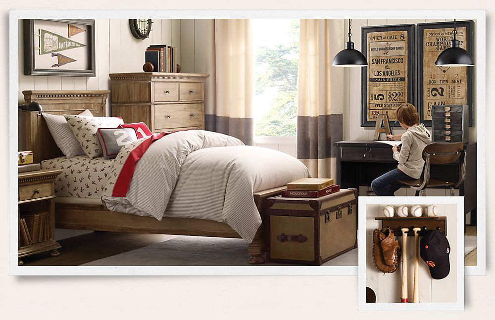 Rooms Restoration Hardware Baby Child Great Vintage Baseball Room For When My Boys Are