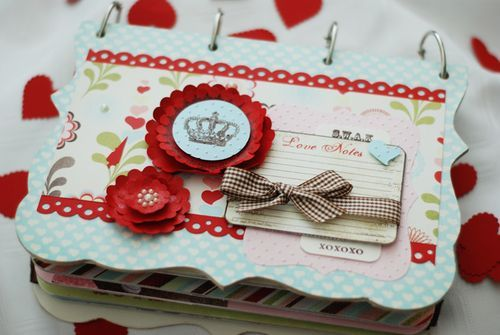 Project - Love {Notes} Mini Album by Suzanne Sergi
