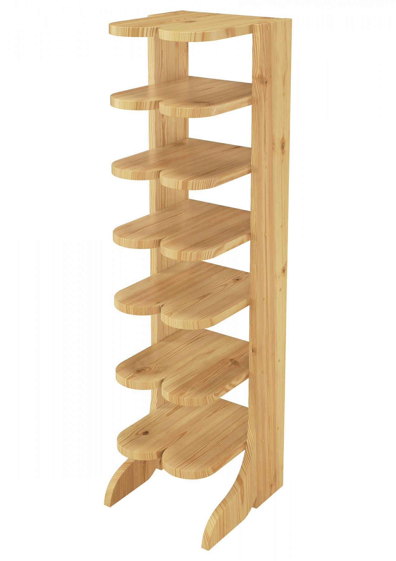 9 Atemberaubend Galerie Von Schuhregal Holz Poco