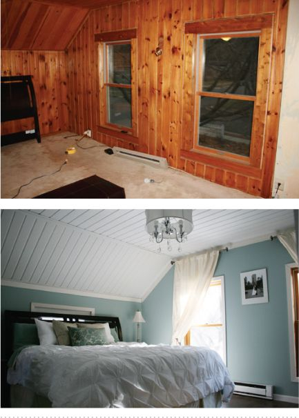 9 genius ways to make wood paneling work wood paneling Ways to update wood paneling