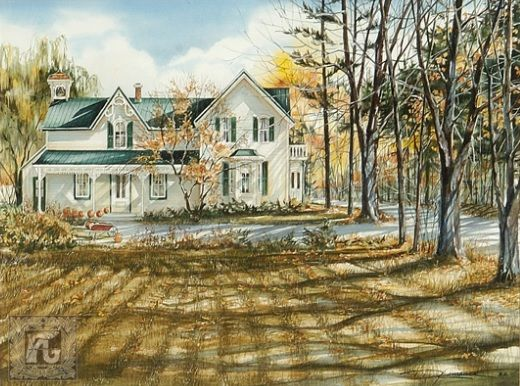 Treasured Days By Trisha Romance Trisha Romance Canadian Painters