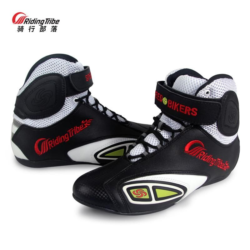 Riding Tribe Motorcycle boots Motorbike Ankle Breathable