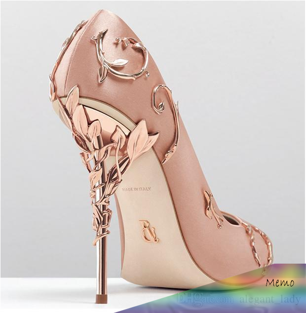 Ralph Russo Rose Gold Comfortable