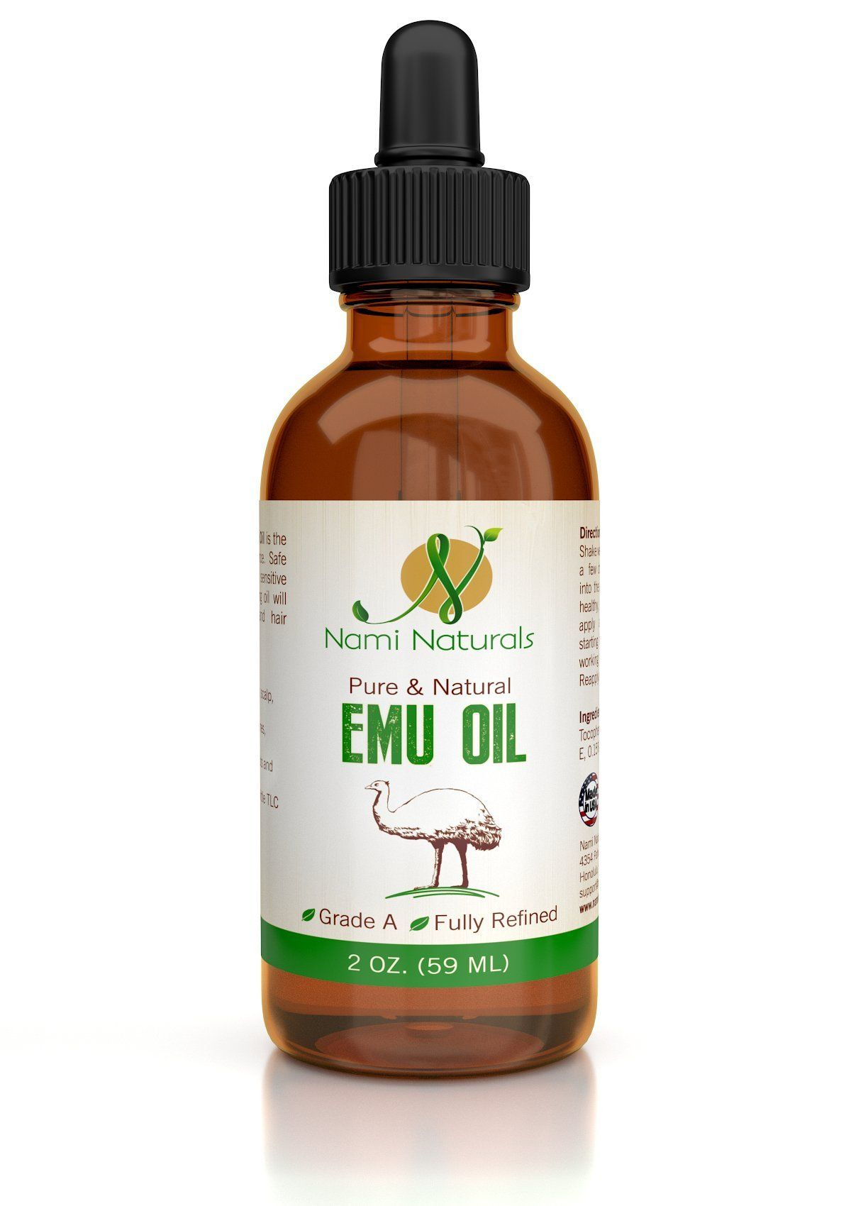 Nami Naturals Emu Oil For Hair Growth, Skin Care