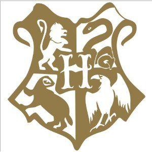 51 Dbfqqf9l Sl500 Aa300 Jpg 300 300 Harry Potter Silhouette Hogwarts Crest Hogwarts