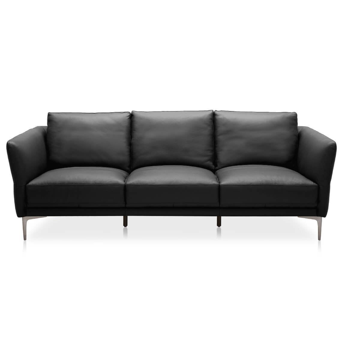 BERRY 3 Seat Leather Sofa in 2019 | Products | Leather sofa ...
