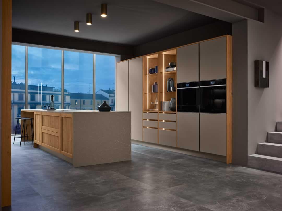 La Cucina Milano Di Veneta Cucine E Espressione Di Uno Stile Che