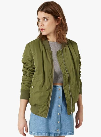 7e95329be Buy TOPSHOP Green Winter Jacket for Women Online India, Best Prices ...