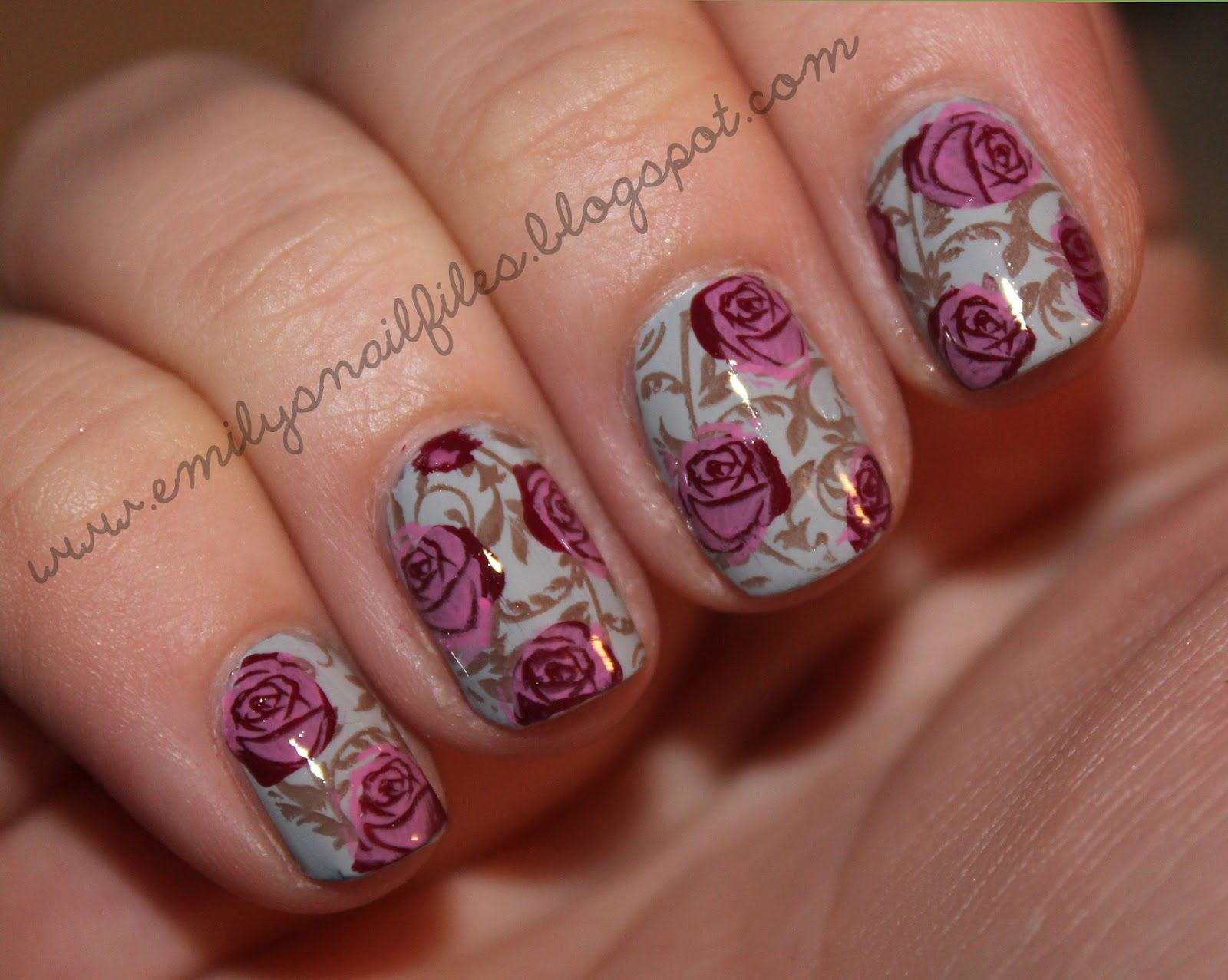 started with a base of Sparkle and Fade light grey and stamped the ...