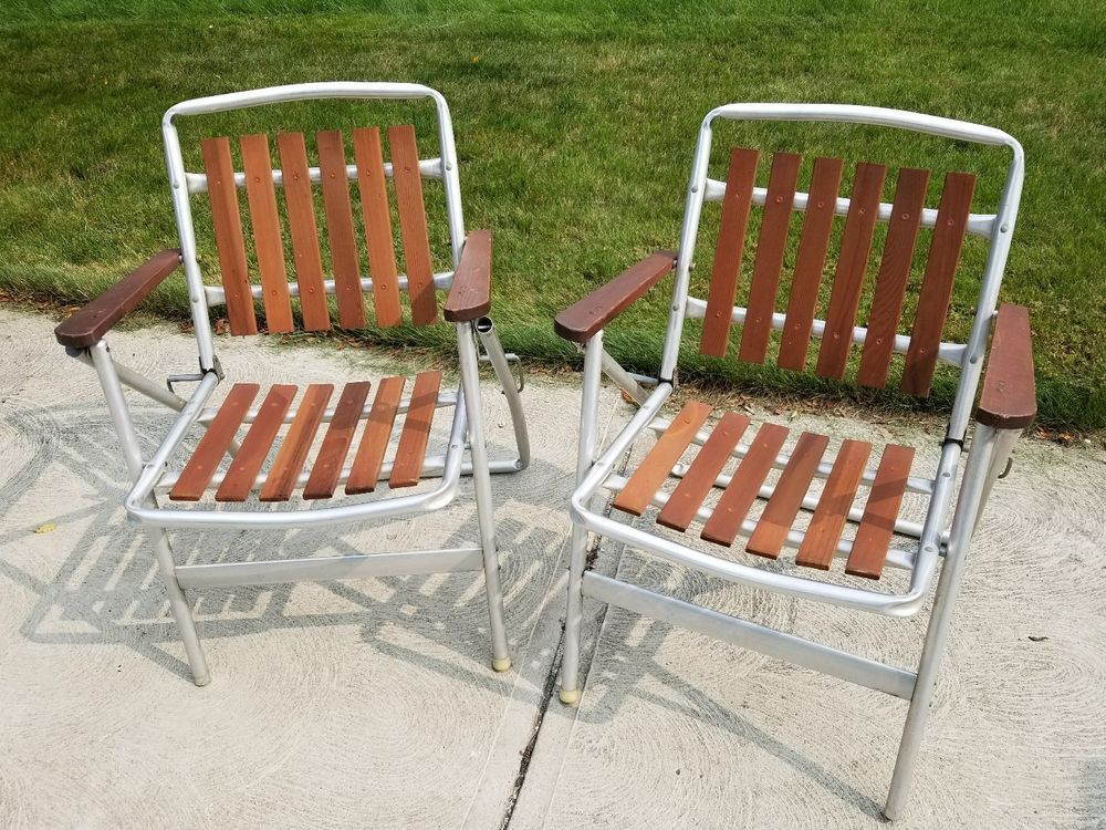 Stupendous Pair Of Vintage Mid Century Modern Rosewood Aluminum Slat Ncnpc Chair Design For Home Ncnpcorg