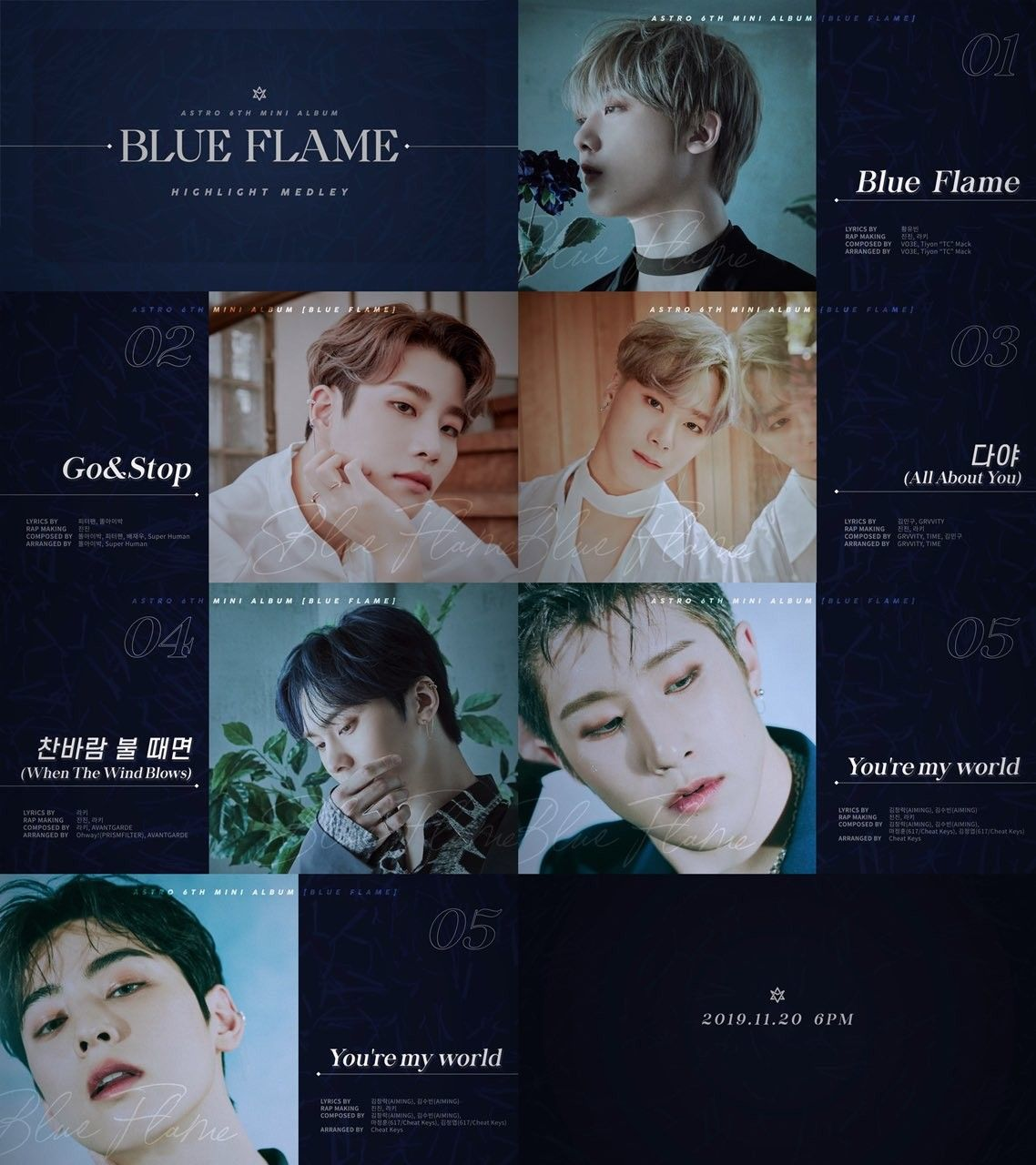 Blue Flames Image By Aroha Inspirit On ASTRO ☆