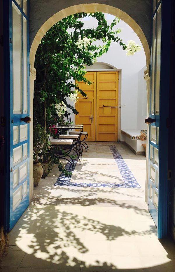 En Photos Dar R Bat Une Belle Maison Traditionnelle A Nabeul