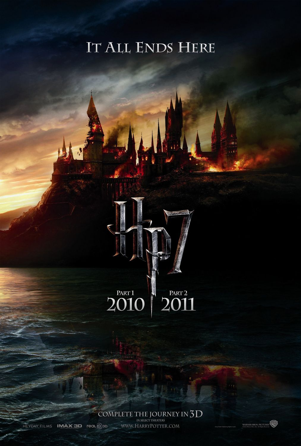 Harry Potter And The Deathly Hallows Part I Extra Large Movie Poster Image Internet Movie Poster A Wallpaper Harry Potter Harry Potter Imagens Harry Potter