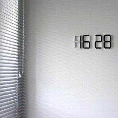 "Black & White clock  Prague-based designer Vadim Kibardin was listed by Wallpaper magazine as one of 40 designers ""who will change the world"""