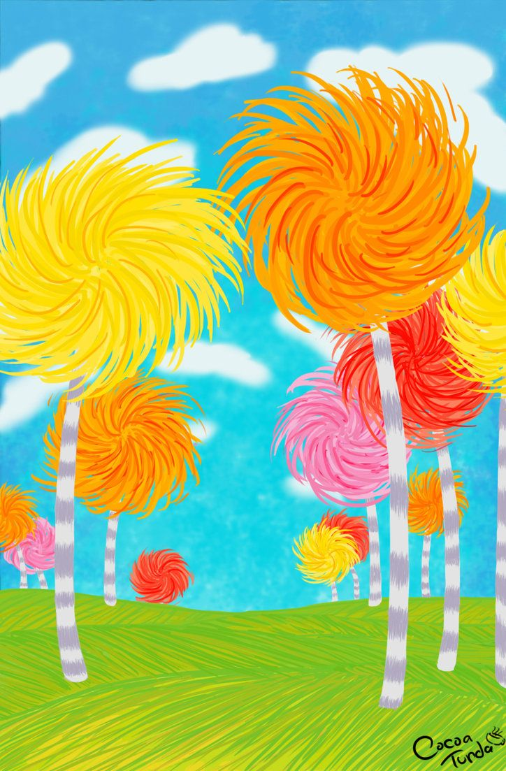 Truffula Trees from The Lorax | The Lorax | Pinterest | Decoraciones ...