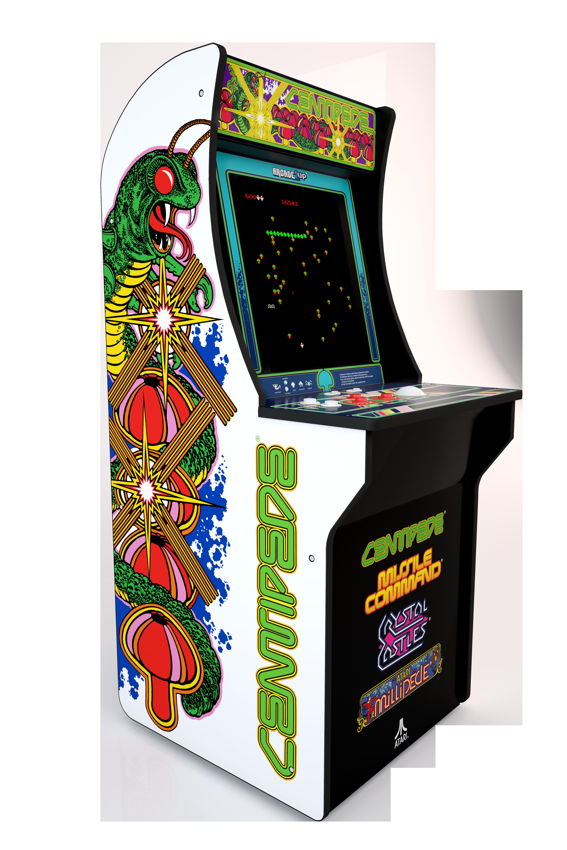 Centipede Arcade Machine Arcade1up 4ft Walmart Com Arcade Arcade Machine Arcade Games