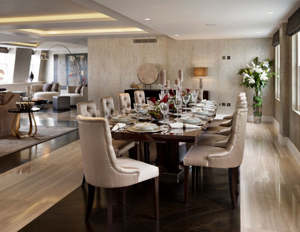 the living room restaurant london a luxury penthouse by living in space decor 22767