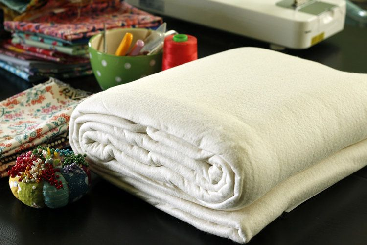 how to sew a comforter with batting