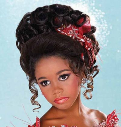 Hairstyle Idea For Pageants Pageant Hair Kids Hairstyles Little Girl Hairstyles