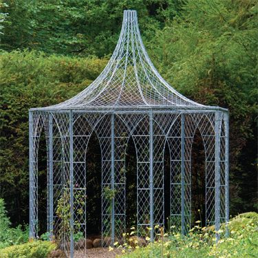 Light and airy gazebo by Garden Requisites http://gazebokings.com/gazebo-accessories/