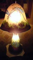 エミール・ガレ〈蜻蛉ランプ〉
