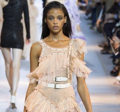 Pale Blush Is The Prettiest Runway Colour To Try Now