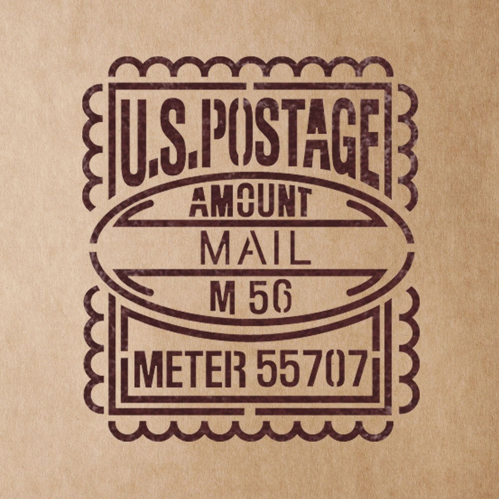 Us postage mail stamp stencils for crafting canvas diy wall decor us postage mail stamp stencils for crafting canvas diy wall decor amipublicfo Image collections