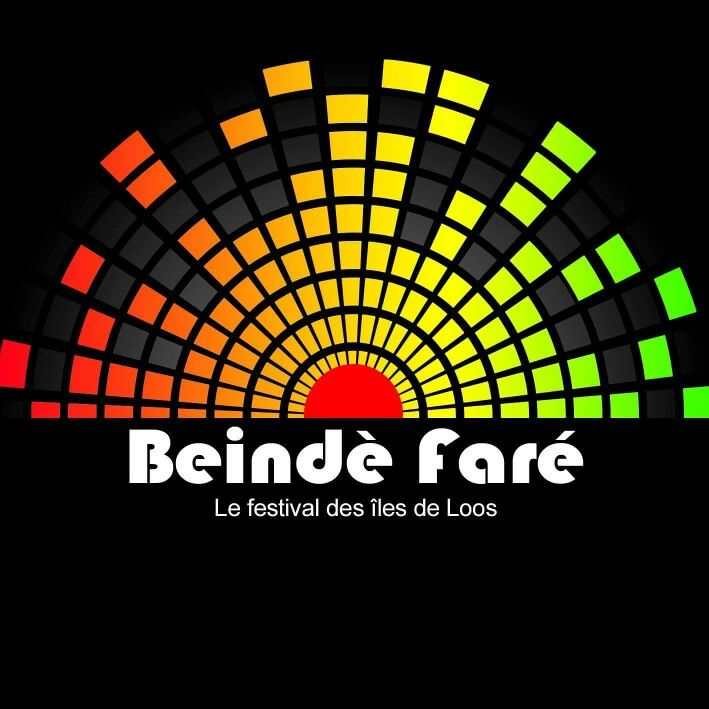 Beinde fare in soussou (African dialect) means the dance of the sand and this is the newly festival of music logo