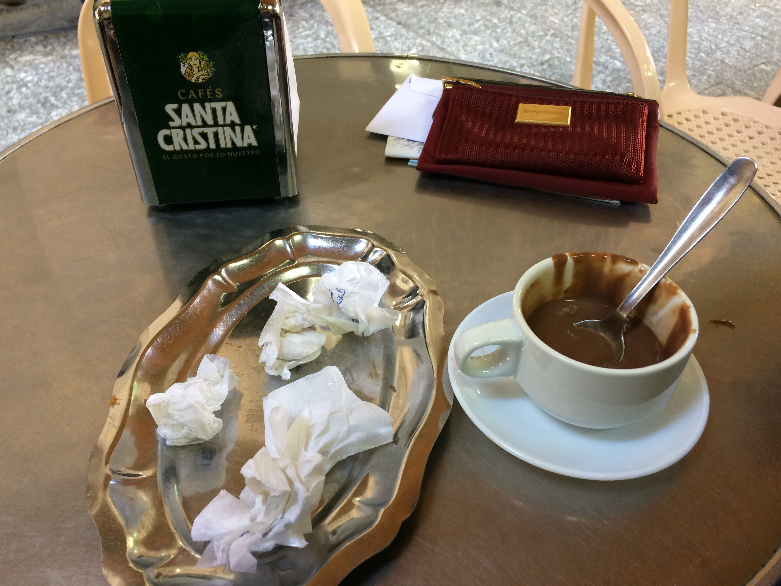 Il ne reste plus de Churros! Casa Aranda, Malaga, Espagne