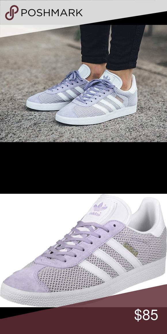 new product c62c3 5f6d8 adidas gazelle light purple adidas Shoes