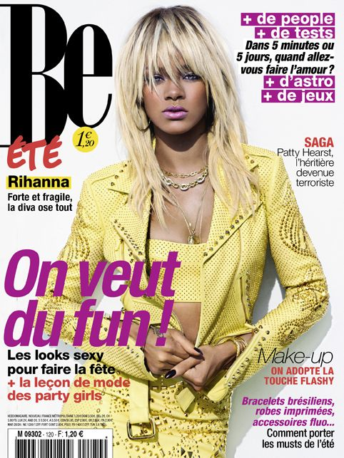 Magazine Be N ? Rihanna Rihanna. RiRi #Rihanna, #Riri, #pinsland, https://apps.facebook.com/yangutu
