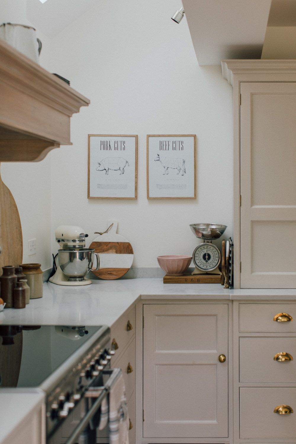 Rebecca S Kitchen Kitchen Design Farrow Ball Kitchen