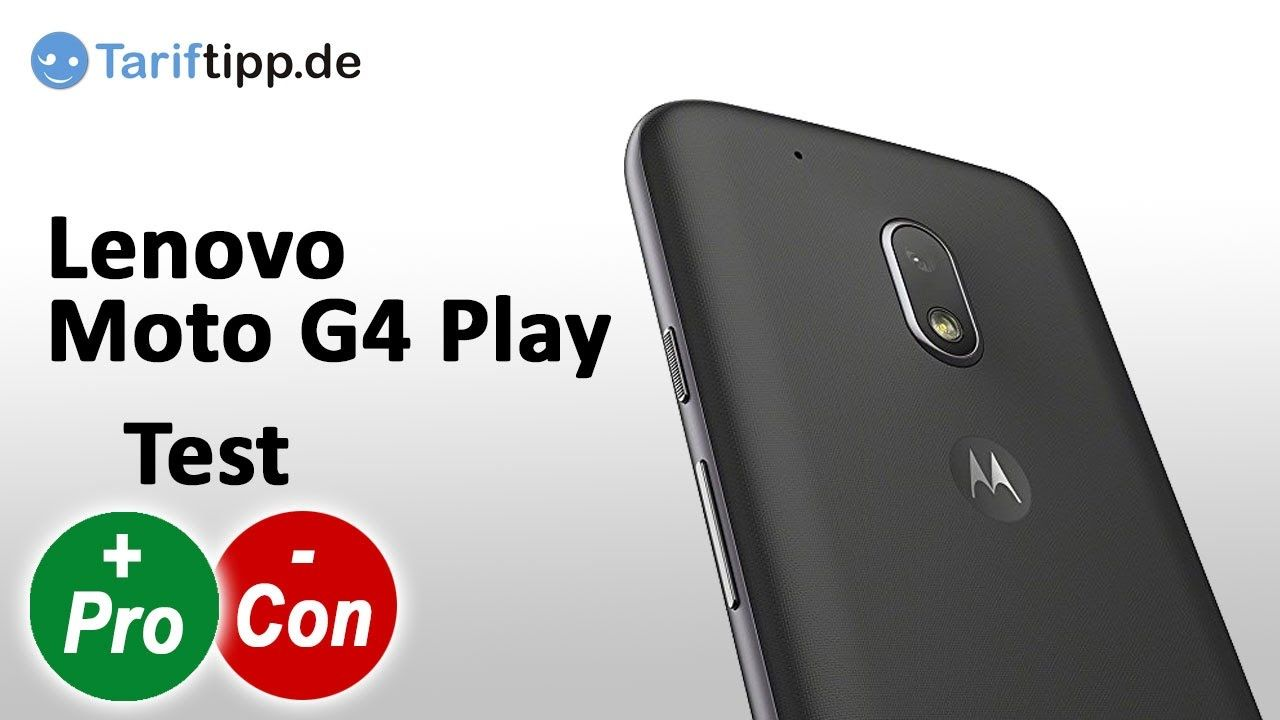 Lenovo Moto G4 Play | Test deutsch